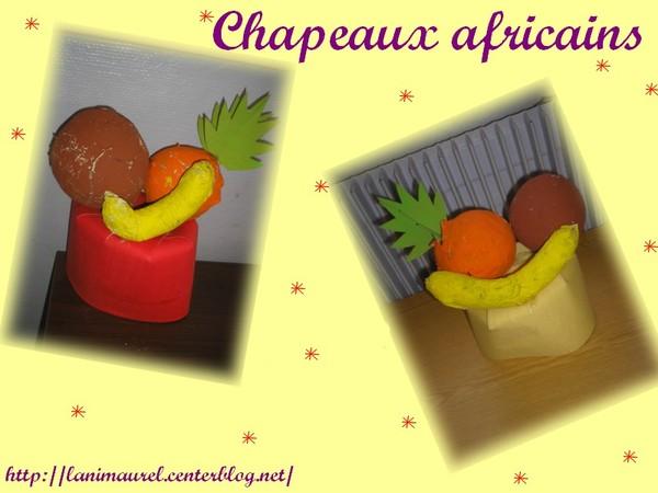 chapeaux africains